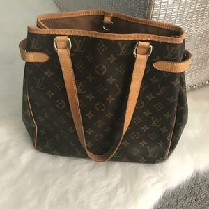 AUTHENTIC LOUIS VUITTON Batignolles Vertical Bag